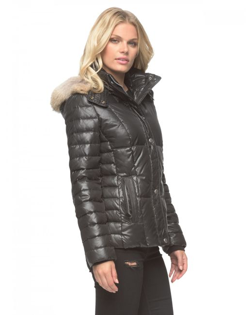 Marc New York | Black Aubrey Quilted Jacket  | Lyst