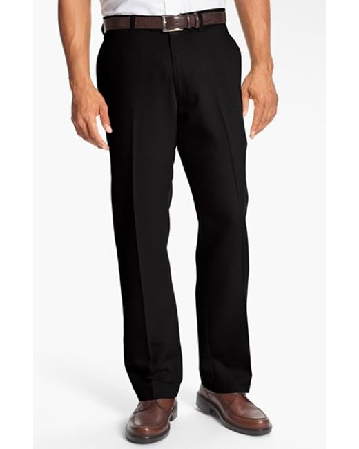 Cutter & Buck | Black Microfiber Twill Pants for Men | Lyst