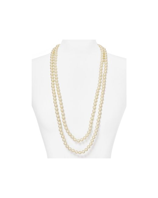 Carolee | Metallic Strand Necklace, 72"