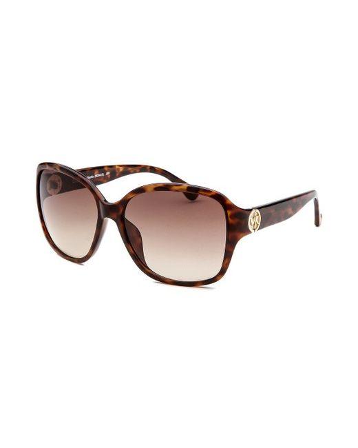 4ae74816c5 Michael michael kors Women  39 s Sophia Square Havana Sunglasses in Brown