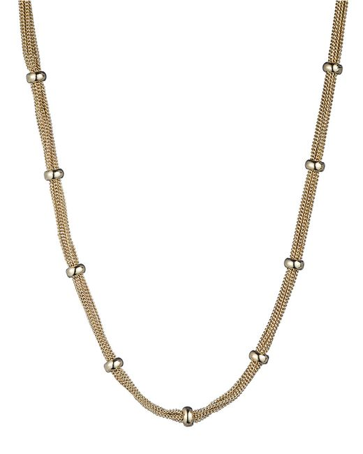 Anne Klein | Metallic Goldtone Multi Layer Necklace | Lyst