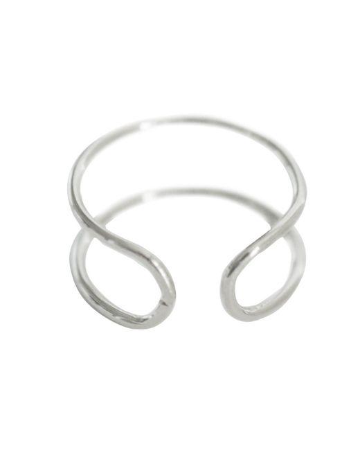 Cloverpost | Metallic Cuff Midi Ring | Lyst