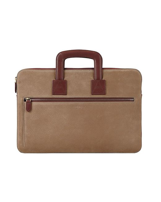 Aspinal | Brown Connaught Document Case for Men | Lyst