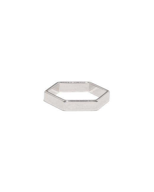 Bing Bang | Metallic Hexagon Ring | Lyst