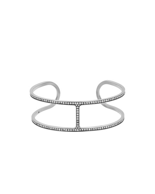 Michael Kors | Metallic Pave Bar Slider Bracelet | Lyst