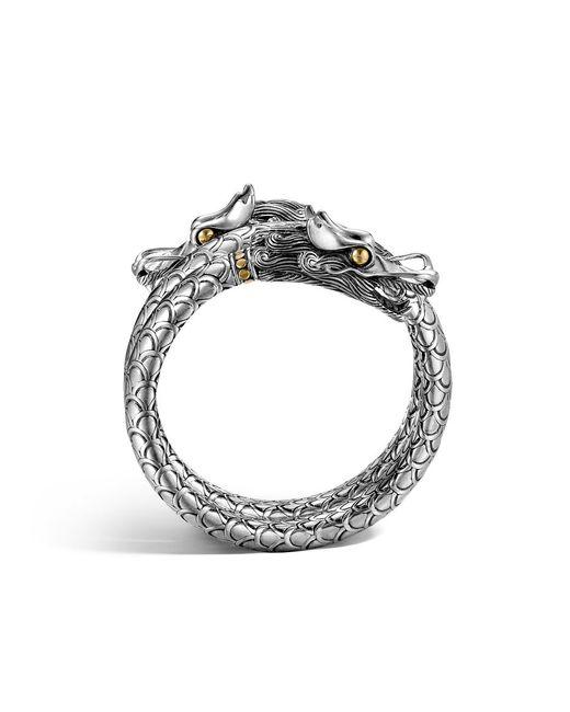 John Hardy | Metallic Naga Double Coil Bracelet | Lyst