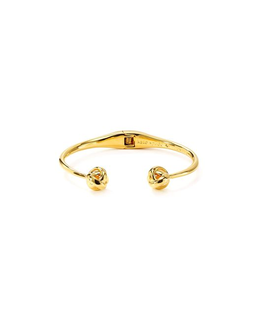 Kate Spade | Metallic Dainty Sparklers Knot Cuff | Lyst