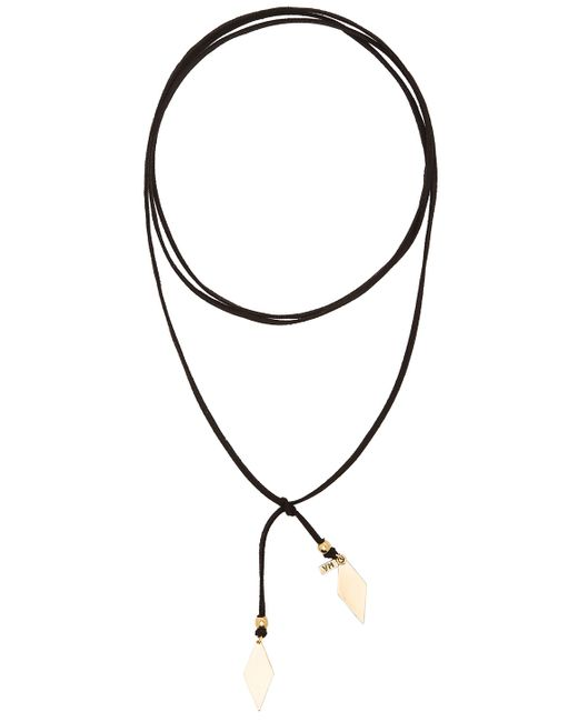Vanessa Mooney | Black Gold Diamond Wrap Choker | Lyst