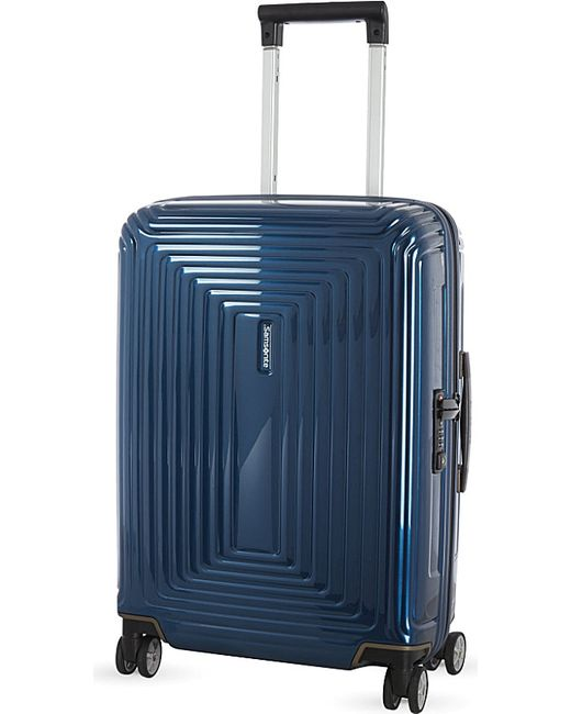 Samsonite | Blue Neopulse Four-wheel Spinner Suitcase 55cm for Men | Lyst