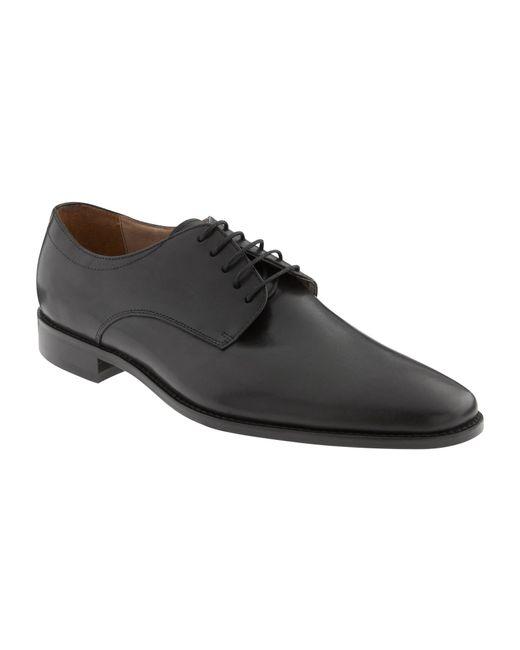 Banana Republic | Black Shaw Italian Leather Oxford for Men | Lyst