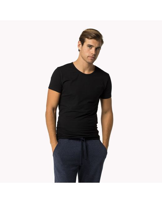Tommy Hilfiger | Black Premium Essentials 3-pack T-shirt for Men | Lyst
