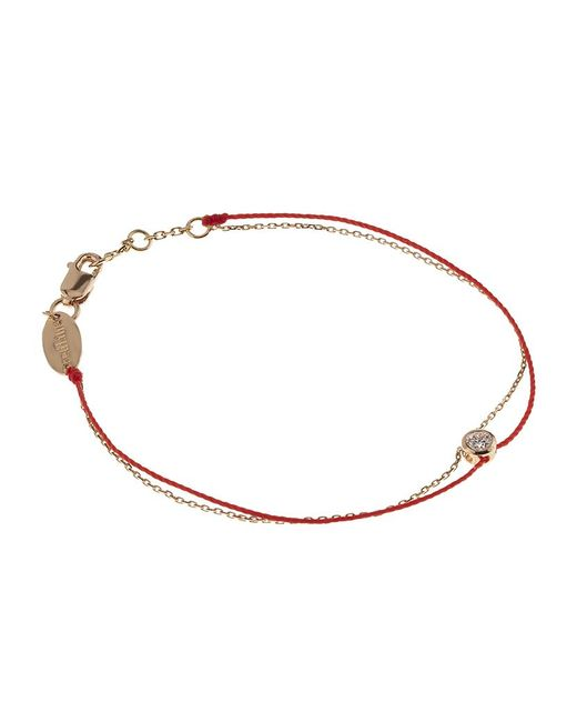 RedLine | Metallic Chain And Thread Pure Elegant Bracelet | Lyst