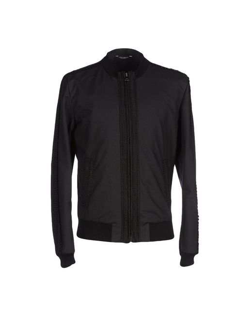 Dolce & Gabbana | Black Jacket for Men | Lyst