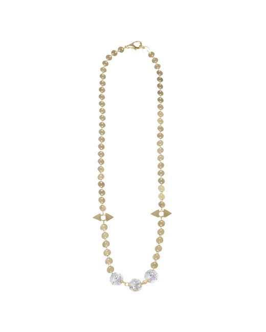 Jill Golden | Yellow Reflection Crystal Necklace | Lyst