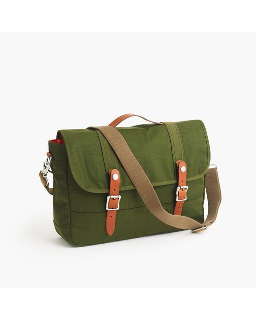 J.Crew | Green Harwick Messenger Bag for Men | Lyst