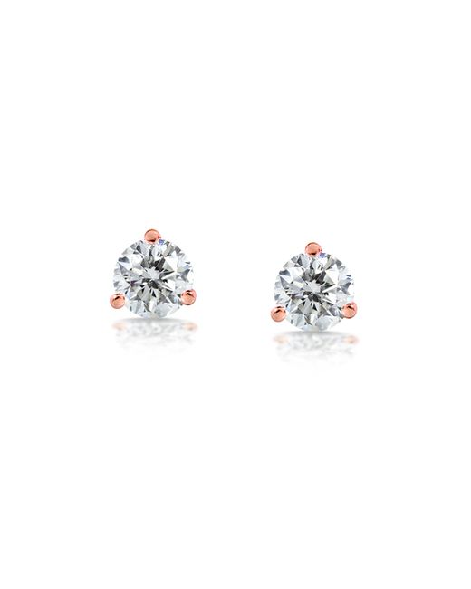 Carbon & Hyde | Pink Diamond Studs | Lyst