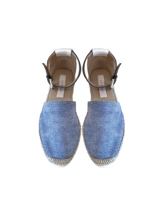 See By Chloé | Blue Glyn Espadrille Flats | Lyst