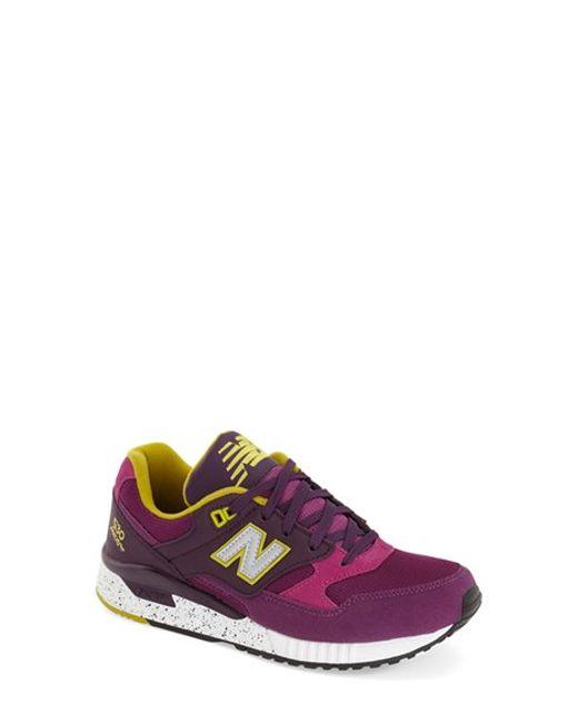 New Balance | Purple '530' Sneaker | Lyst
