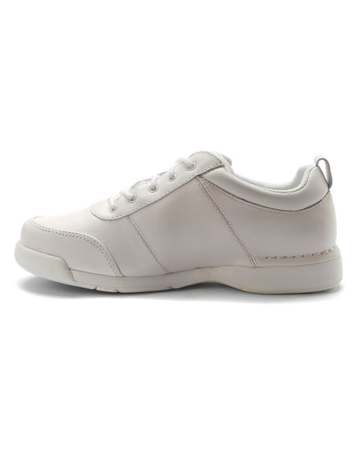 rockport marta in white white leather save 26 lyst