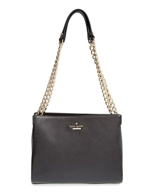 Kate Spade | Black Emerson Place Mini Convertible Phoebe Leather Shoulder Bag | Lyst