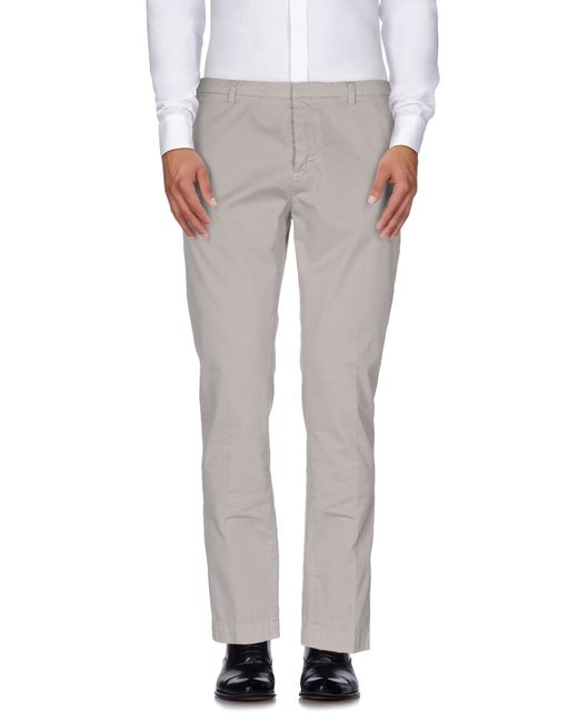 Mauro Grifoni   Gray Casual Pants for Men   Lyst
