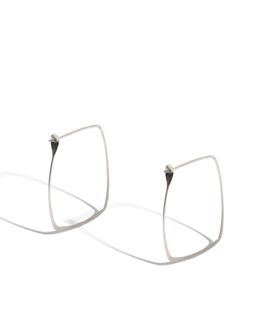 Melissa Joy Manning | Metallic 1.5 Inch Square Hoops | Lyst