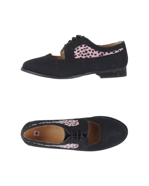 kling lace up shoes in pink lyst