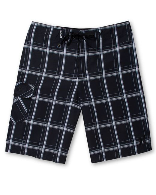 Hurley | Black Men's Puerto Rico Board Shorts for Men | Lyst