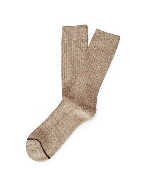 etiquette boot socks brown in brown for lyst