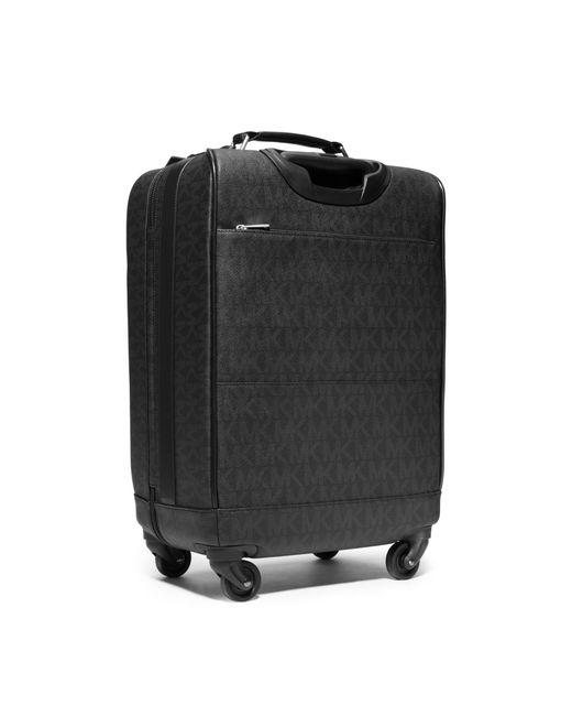 Michael Kors | Black Jet Set Travel Logo Suitcase for Men | Lyst
