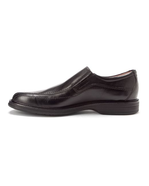 johnston murphy penn waterproof slip on in black for
