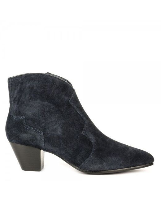 Ash | Blue Hurrican Softy Suede Boots | Lyst