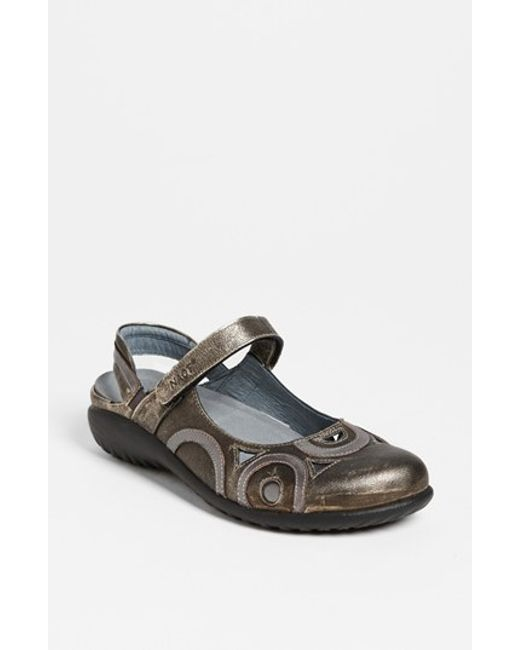 Naot | Metallic 'rongo' Slip-on | Lyst