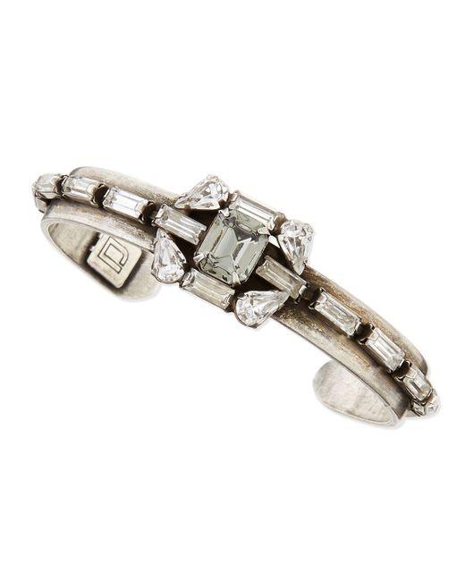 DANNIJO | Metallic Tamara Crystal Bracelet | Lyst