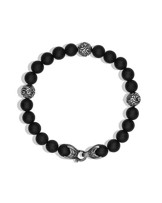 David Yurman   Spiritual Beads Bracelet With Black Onyx, 8mm for Men   Lyst