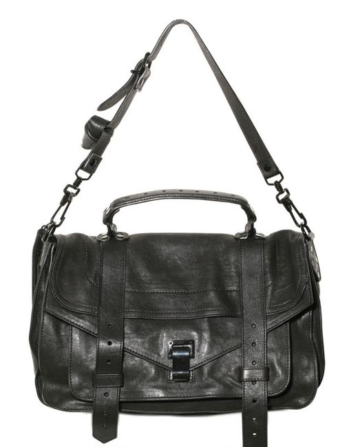 Proenza Schouler | Black Ps1 Medium Shoulder Bag | Lyst