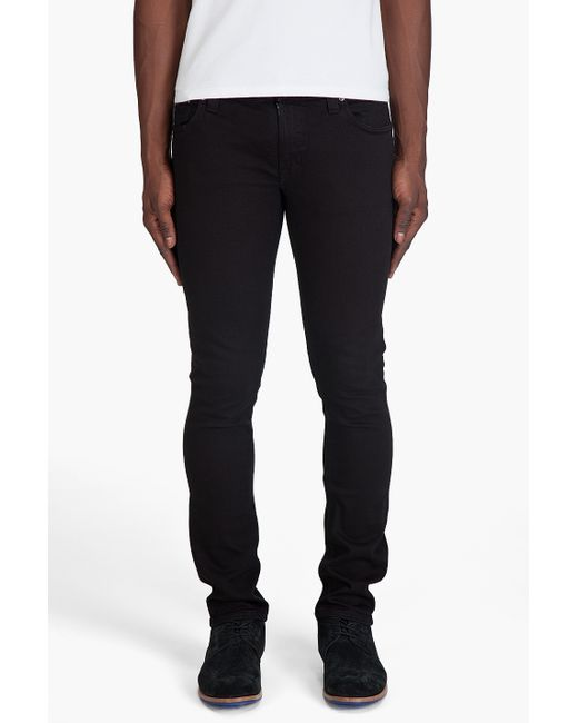 "Nudie Jeans | Black 32"" Grim Tim Jean for Men 
