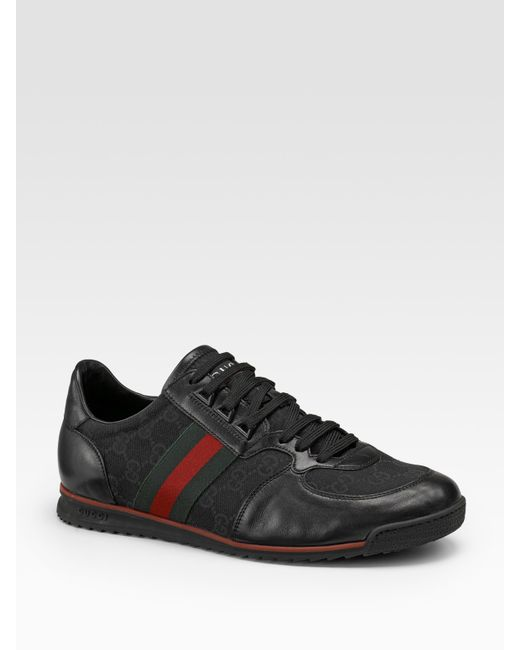 Gucci | Black Sneaker for Men | Lyst