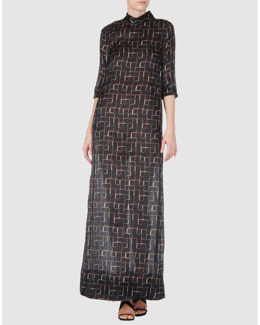 Marni | Black Long Dress | Lyst