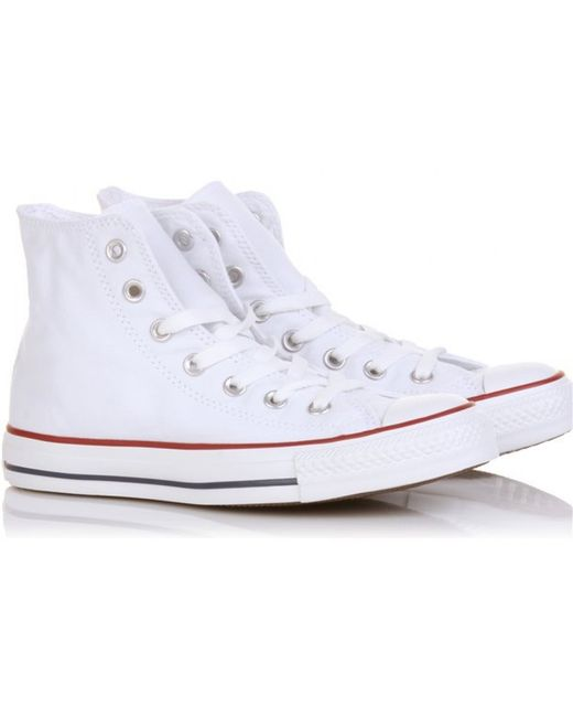 Converse | White Chuck Taylor All Star High | Lyst