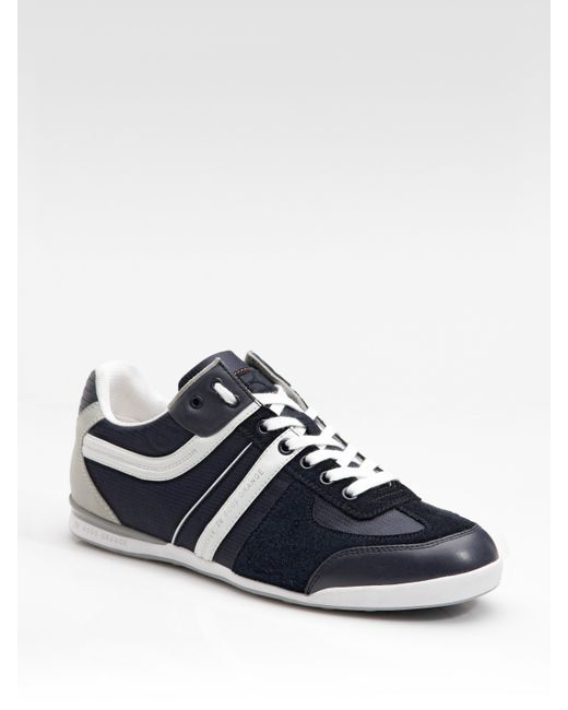boss orange kempton sneakers in blue for men lyst. Black Bedroom Furniture Sets. Home Design Ideas
