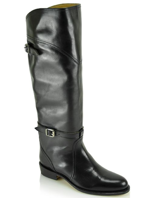 Frye | Black Dorado Classic Riding Boot | Lyst