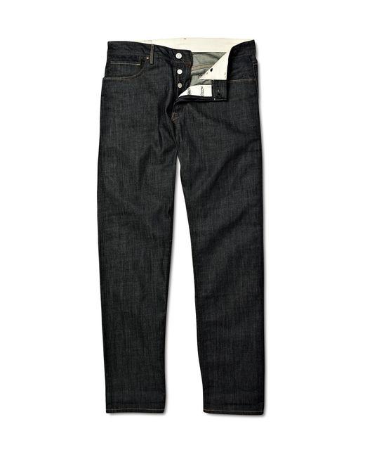 Levi's | Black Indigo 1962 551z Rigid Jeans for Men | Lyst