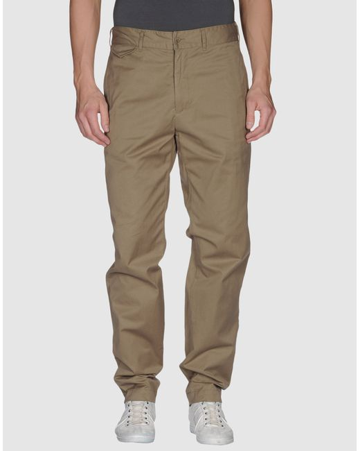Woolrich   Green Casual Pants for Men   Lyst