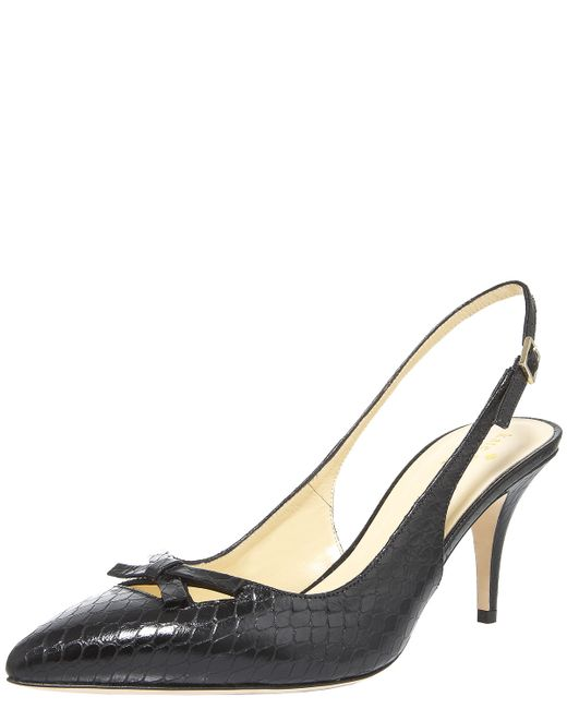 kate spade new york | Black Isa Sandals | Lyst