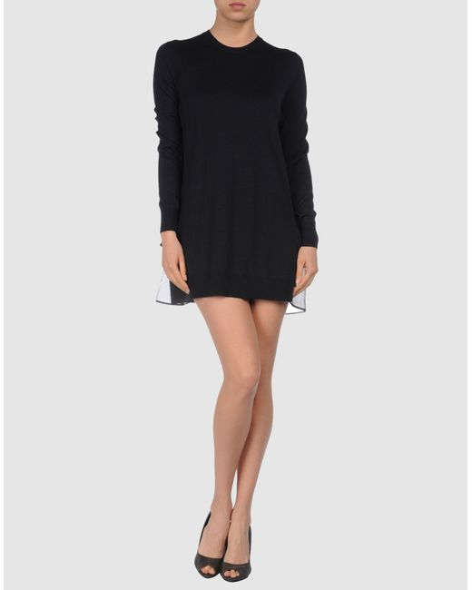 Miu Miu | Black Short Dress | Lyst