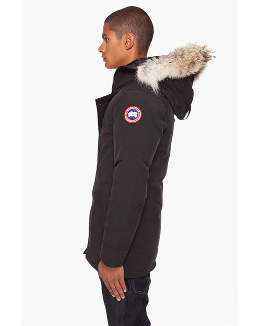 Canada Goose toronto outlet official - Canada goose 'chateau' Down Parka in Black for Men | Lyst