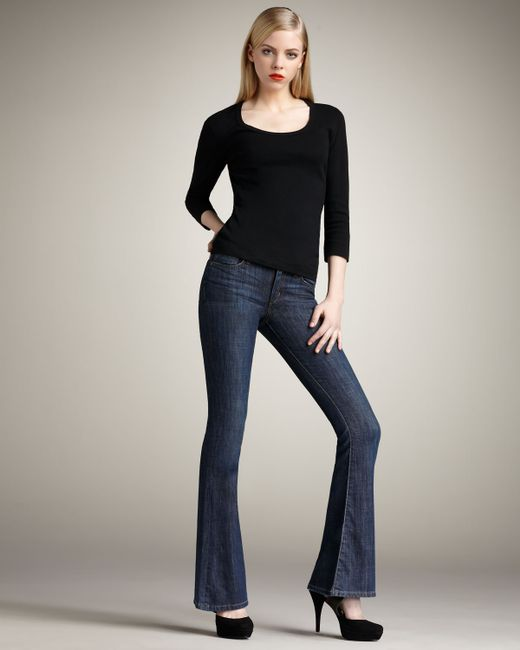 Joe's Jeans | Blue Visionaire Madelyn Flared Jeans | Lyst