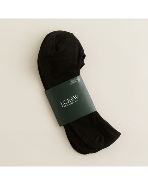 J.Crew | Black No-show Socks Two-pack for Men | Lyst