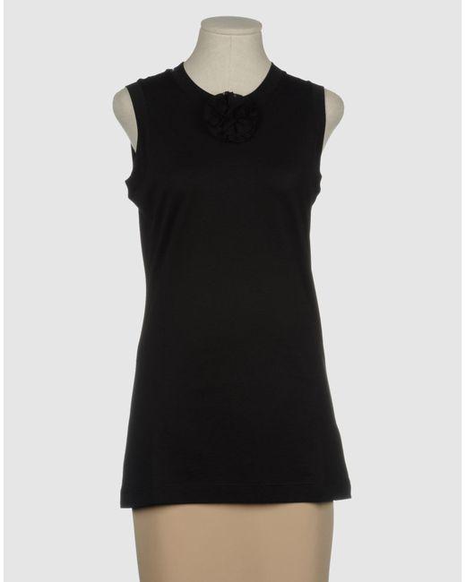 Dolce & Gabbana | Black Top | Lyst